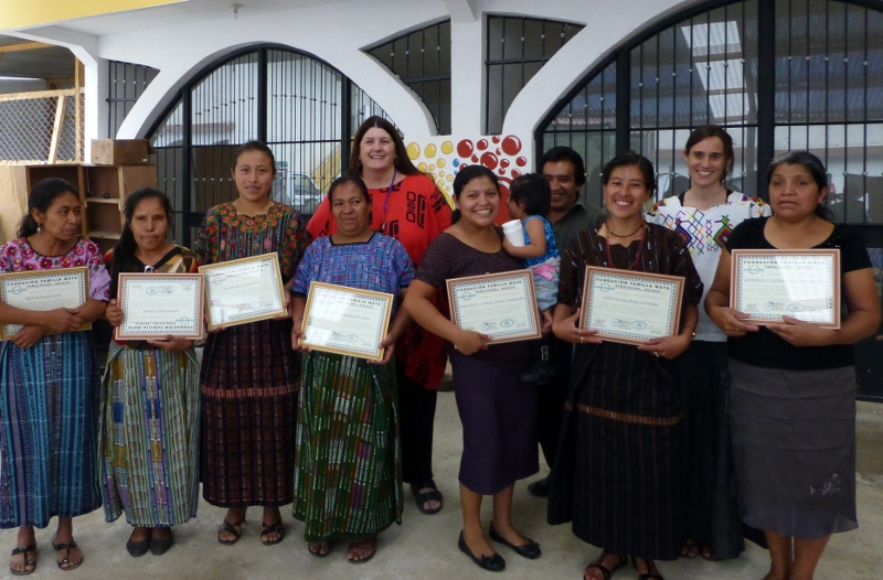 Mayan Families' Sustained Sewing Project