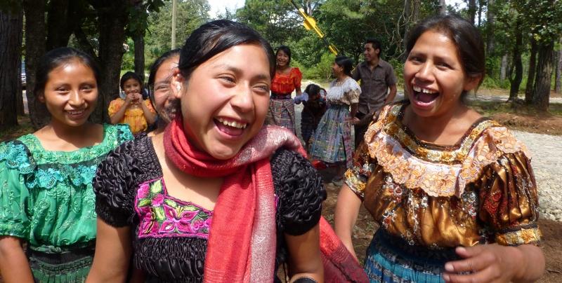 laughing ladies of Quiche