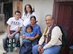 Altagracia Hernandez, Luisa Perez, and Serfio of FTC far right -Julio Roca-Miro of ADEHGUA