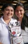 Mildre and Fernanda Castillo with Vita Rice
