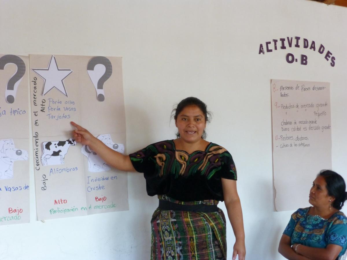 Oxlajuj B'atz' Hosts Marketing Workshop forCooperatives