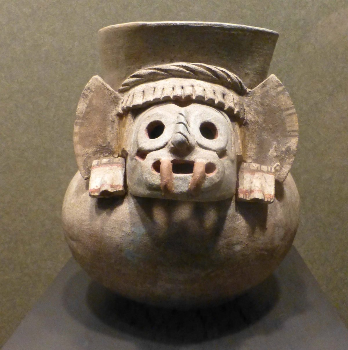 A very early member of the Mayan pantheon