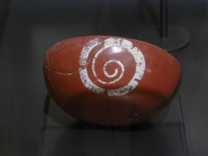 The volute or caracol was Mayan-ese for